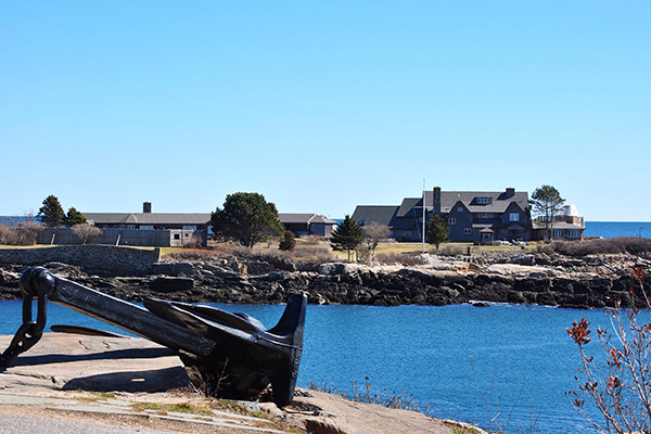 Bush Family Compound at Walker Point, Kennebunkport, Maine